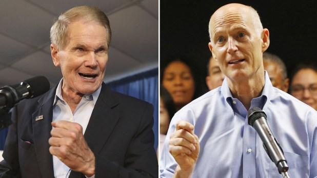 Bill Nelson y Rick Scott, una de las competencias más reñidas, en el estado de la Florida.