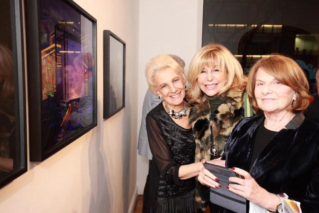 Luchi Szerman, Hilda Catz y Silvia Waisman