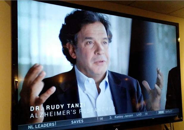 Rudolph Tanzi es uno de los investigadores líderes del Alzheimer en los EEUU.