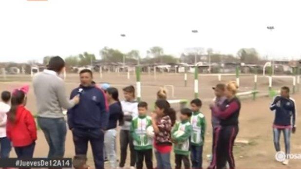 Disparos en plena práctica de fútbol en un club de Rosario