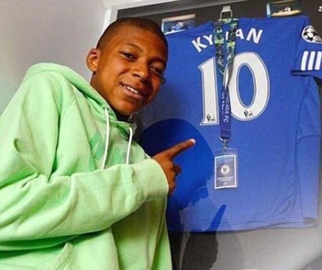 Kylian Mbappé hizo una prueba en el Chelseaa los 13 años