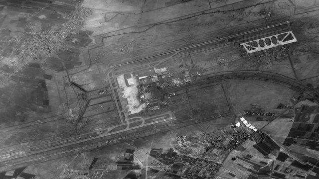 El aeropuerto internacional de Damasco