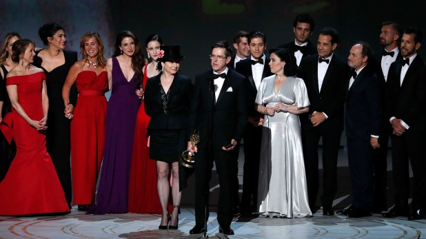 "El elenco de ""The Marvelous Mrs. Maisel"" en los premios Emmy"