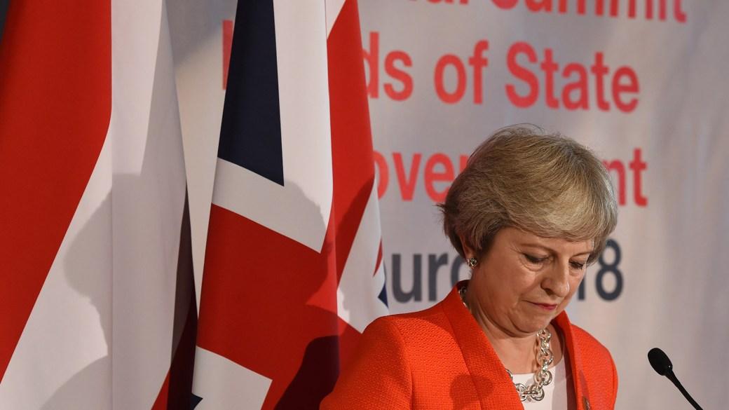 La primera ministra Theresa May (AFP)
