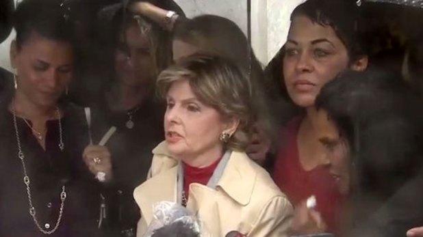Gloria Allred, la abogada de varias de las mujeres que acusaron a Bill Cosby de acoso y agresión sexual