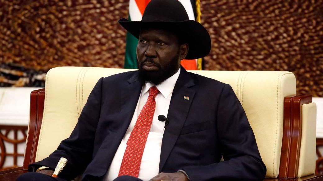 El presidente de Sudán del Sur, Salva Kiir (AFP)