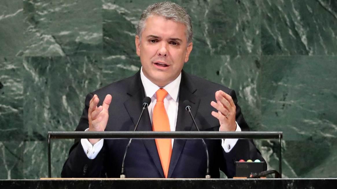 Iván Duque, presidente de Colombia (Reuters)