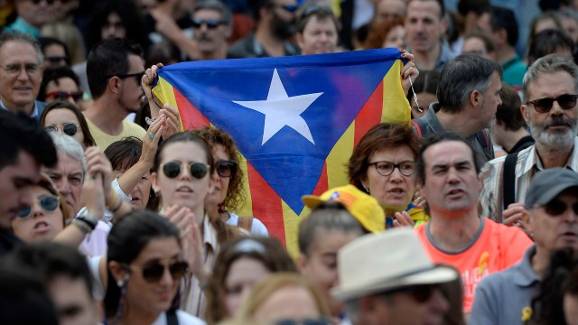 Independentistas de Cataluña (AFP)