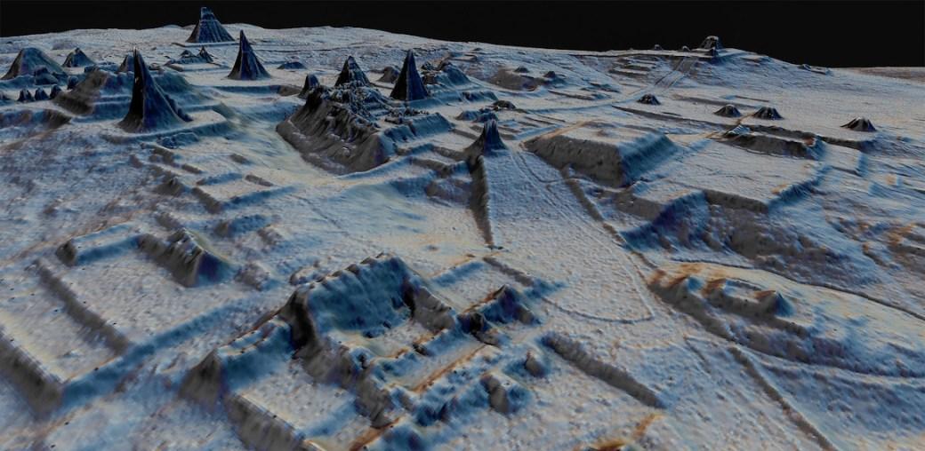 Alrededor de 11 millones de personas vivían en las tierras bajas mayas entre los años 650 y 800 CE