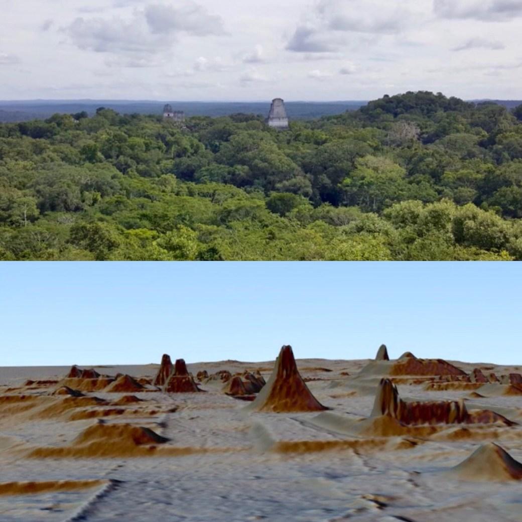 América Central era el hogar de una civilización más avanzada que las culturas de Grecia y China