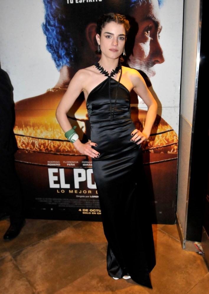 Malena Sánchez; en la película, Patricia Pacheco