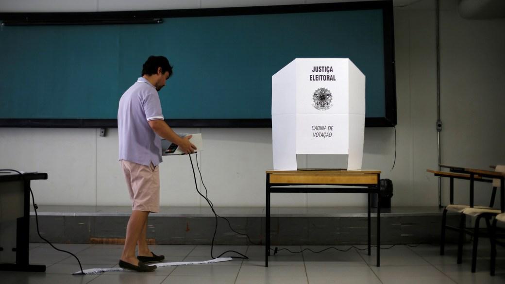 Brasil usará urnas electrónicas en las votaciones de este 7 de octubre (REUTERS/Adriano Machado)