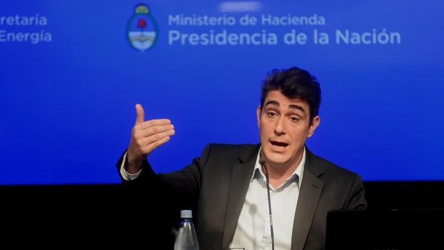 El secretario de Energía, Javier Iguacel
