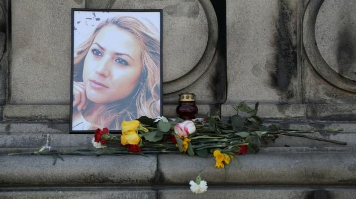 En Bulgaria se ha rendido homenaje a la periodista asesinada (Reuters)