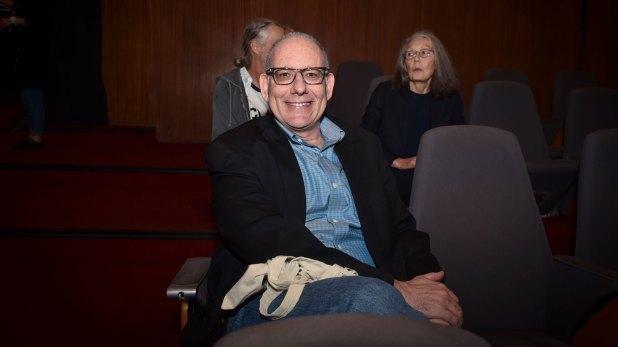 El escritor estadounidense David Leavitt (Guille Llamos)