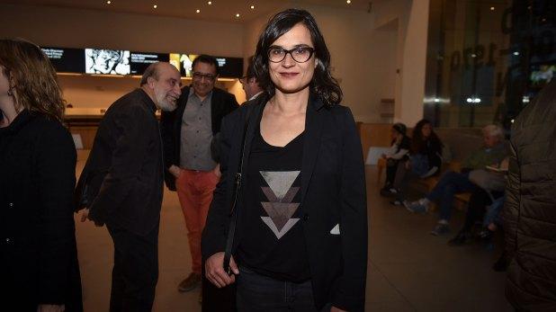 La autora colombiana Carolina Sanín (Guille Llamos)