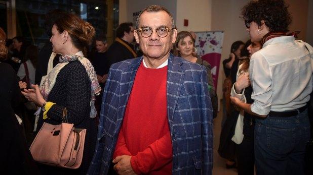 El autor salvadoreño Horacio Castellanos Moya (Guille Llamos)
