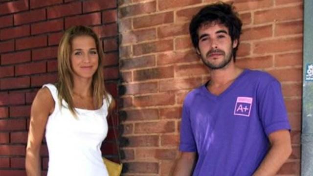 Soledad Fandiño y Nico Cabré, cuando estaban juntos