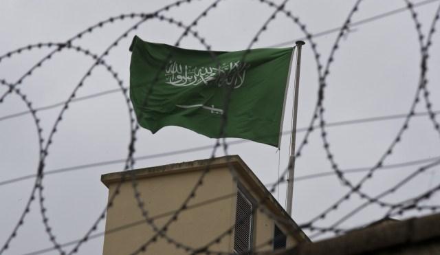 La comunidad internacional permanece escéptica respecto a las versiones de Riad sobre la muerte de Khashoggi(AP Photo/Petros Giannakouris)