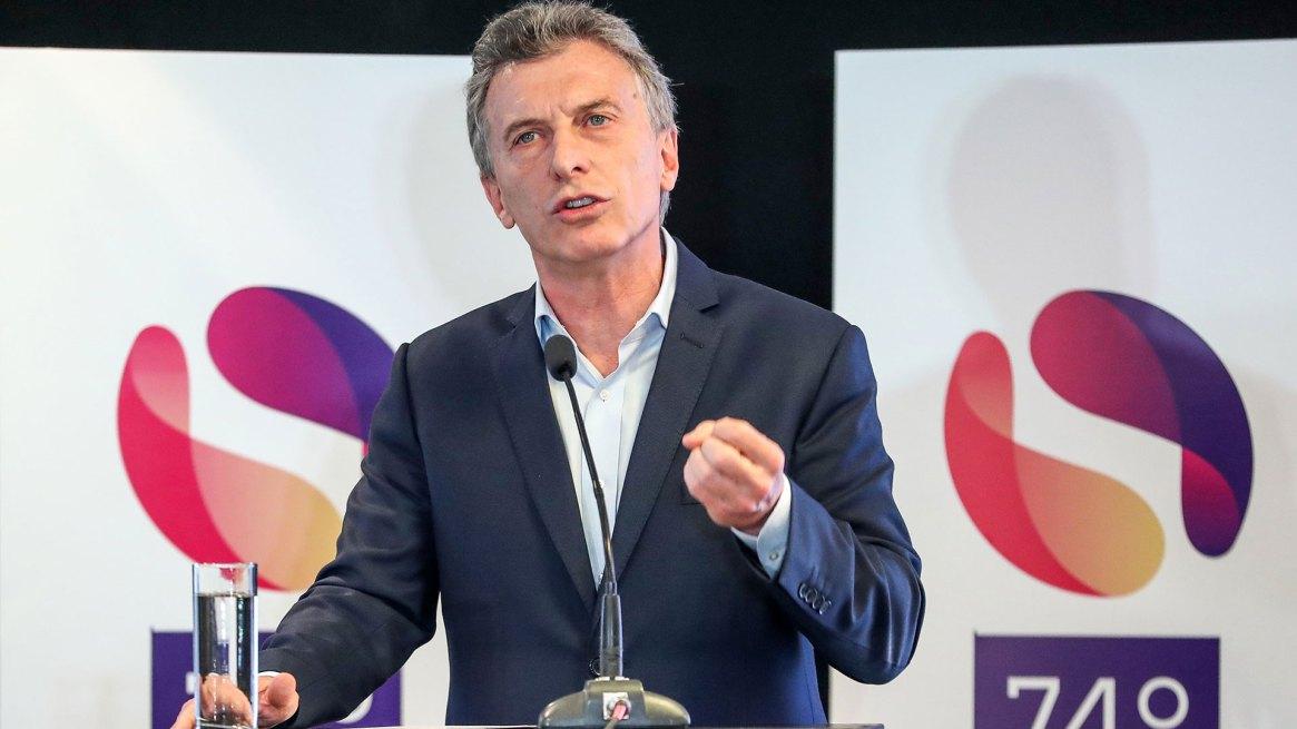 Mauricio Macri (Prensa Presidencia)