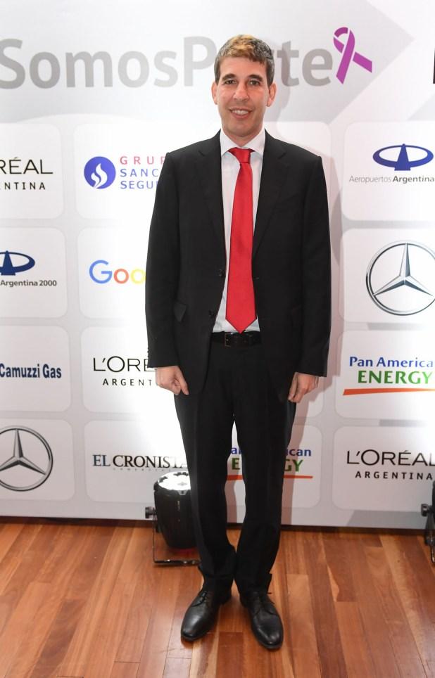 El CEO del Grupo Sancor Seguros, Alejandro Simón