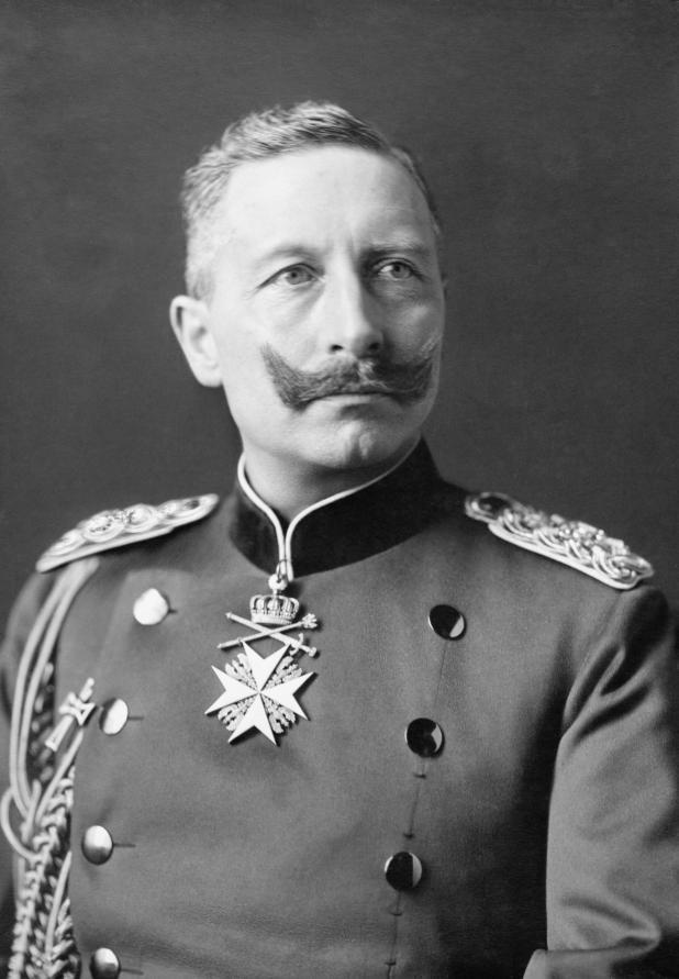 El Káiser Guillermo II de Alemania (Bundesarchiv)