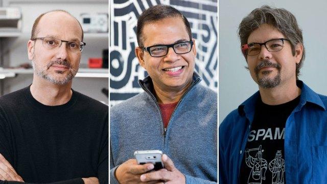 Andy Rubin, Amit Singhal y Richard DeVaul, los tres ejecutivos acusado de abuso sexual protegidos por Google