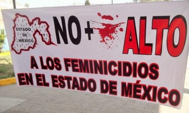 El Estado de México es una de las entidades con más feminicidios en el país. (Foto: OCNF)