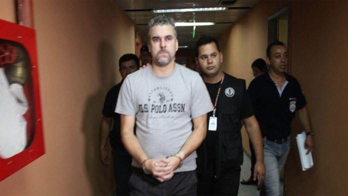 Marcelo Pinheiro Veiga (Foto: Policía Nacional de Paraguay)