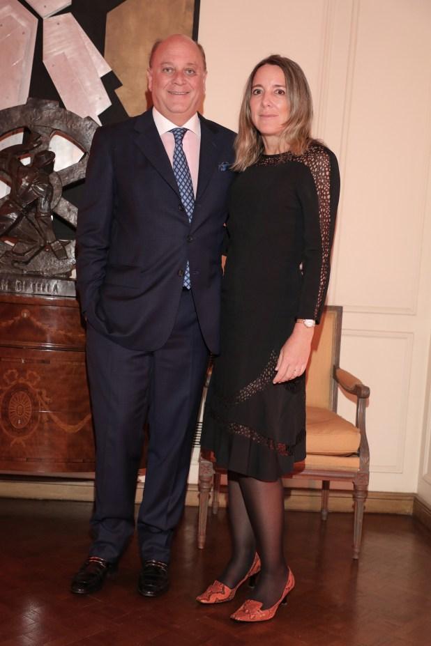 Martín Cabrales y Verónica Zoani de Nutting