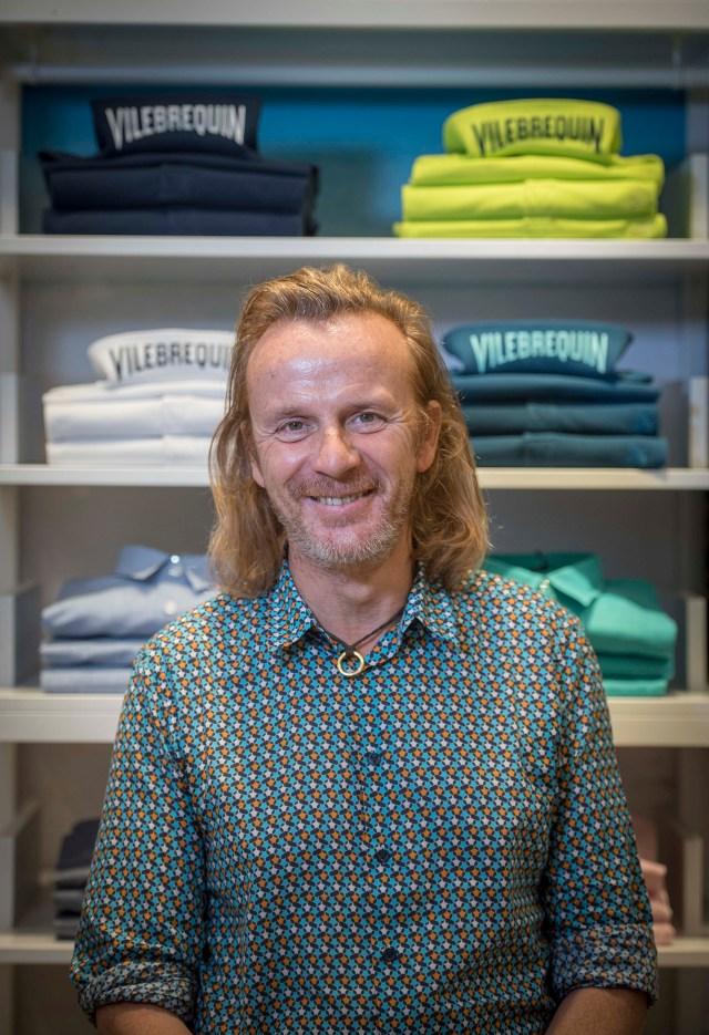 Roland Herlory cuenta con una gran trayectoria en el mercado de lujo, ya que antes de llegar a Vilebrequin trabajó muchos años en Christian Dior y en Hermés (Guille Llamos)