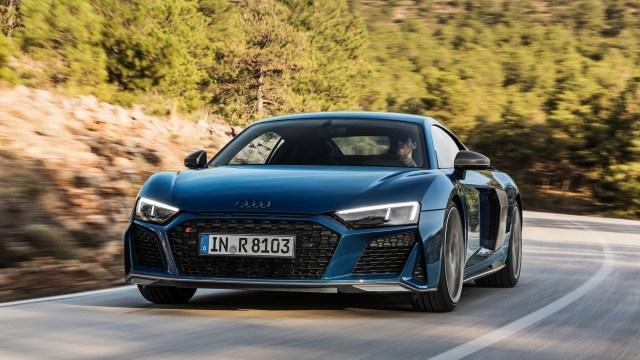 El Audi R8 recibió ajustes estéticos y mecánicos. Es el modelo más extremo de la marca. (Audi)