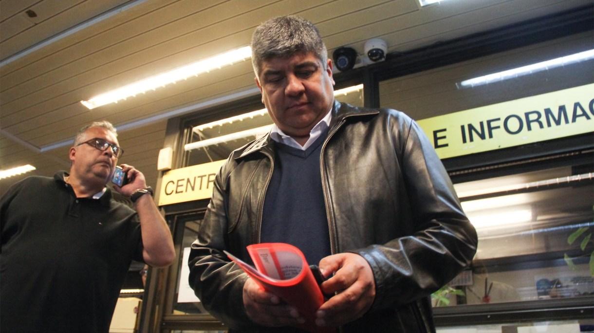 El secretario general de Camioneros, Pablo Moyano (Matías Baglietto)