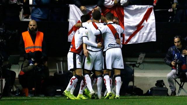 El Rayo Vallecano quiere cortar una racha de cinco derrotas consecutivas(AFP)