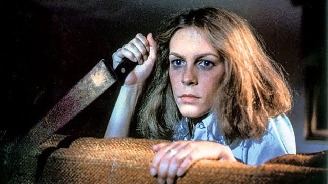 Jamie Lee Curtis en la primera Halloween, la de 1978