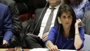 Nikki Haley, ex embajadora de Estados Unidos ante la ONU, también es una potencial candidata al puesto (Foto: EFE)