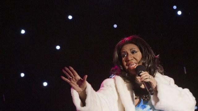 Aretha Franklin (Photo by Saul LOEB / AFP)