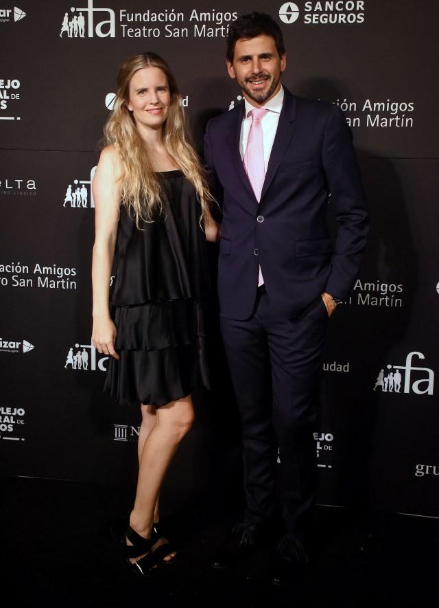 Sofía Soldati y su marido Darío Turovelzky, director de Contenidos Globales de Viacom-Telefé