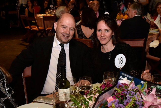 Carlos Rottemberg y su mujer Karina