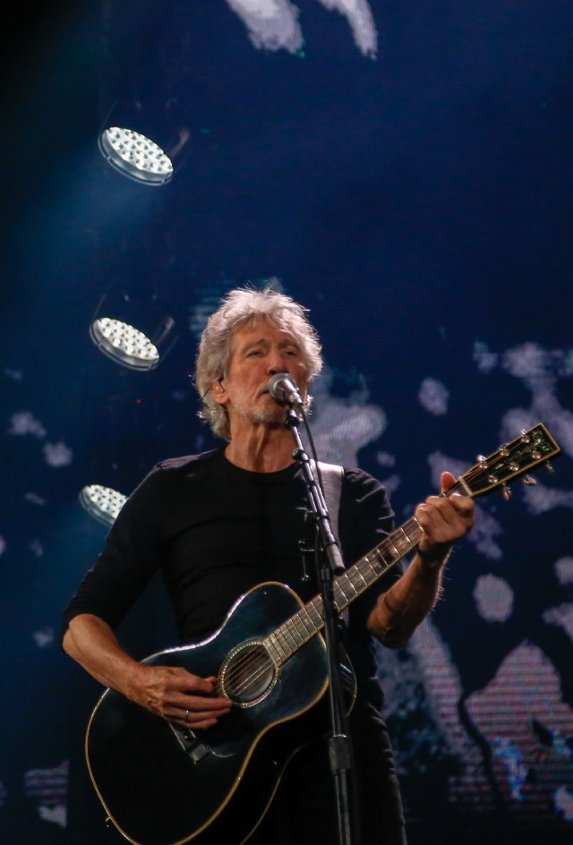 """Roger Waters inició su gira mundial """"Us + Them"""" en mayo pasado en los Estados Unidos. Ya se ha presentado en Europa, Oceanía y ahora en Latinoamérica (Nicolás Aboaf)"""
