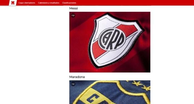 Lionel Messi fue vinculado a River en una polémica lista armada por el Diario Marca