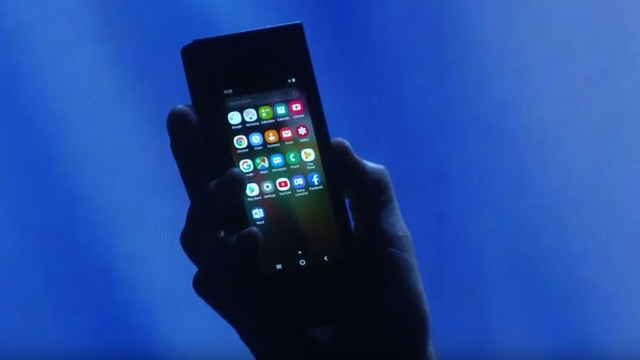 El smartphone cerrado