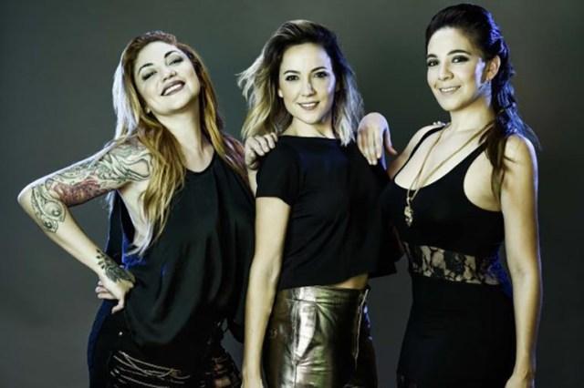 Lowrdez, Valeria y Lissa, de Bandana
