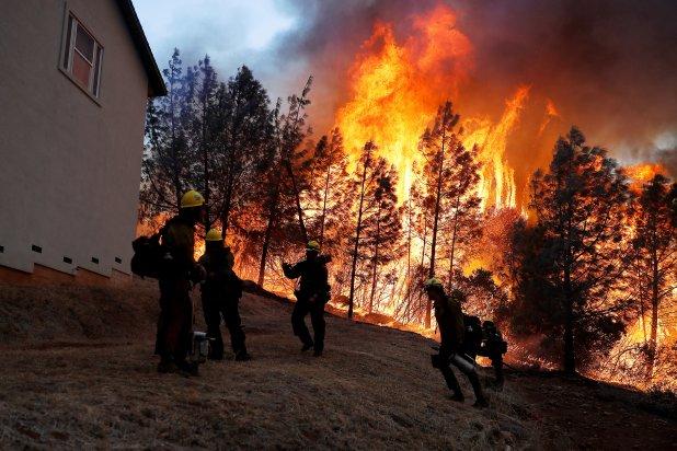El incendio Camp Fire fue el peor de la historia de California. (REUTERS/Stephen Lam)