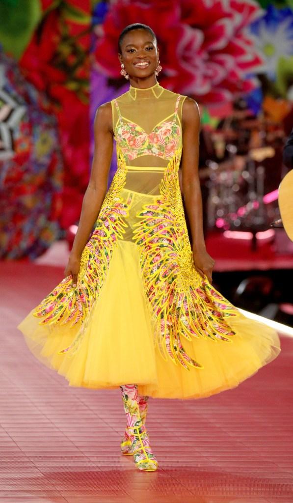 En esta edición, la novedad desde el diseño fue apostar a vestidos sin perder el espíritu lencero
