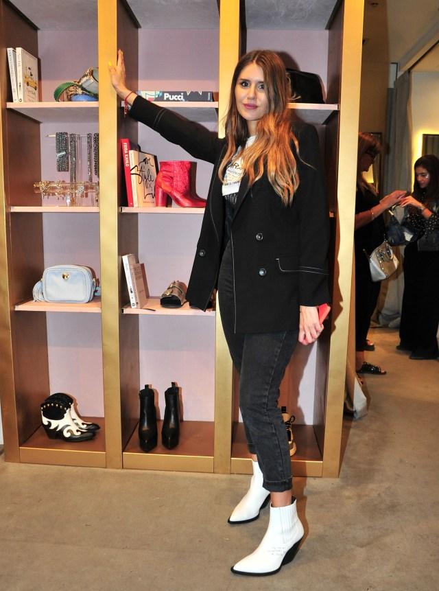 Candelaria Tinelli presentó su última colección de su marca de ropa Ginebra (Teleshow)