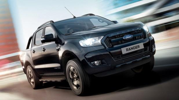 Ranger Black Edition, la nueva versión de la pick up que se produce en Argentina (FORD)