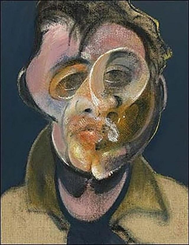 Francis Bacon, Autorretrato, 1969, Colección privada