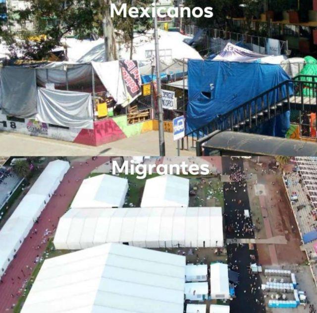 Esta foto se hizo viral en las redes sociales en México, recopilando comentarios contrastantes. (Foto: Twitter)