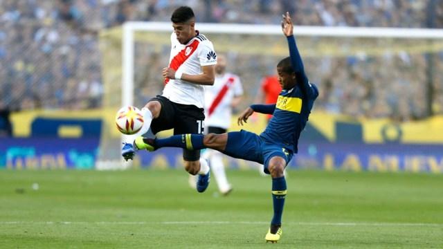 Wilmar Barrios y Exequiel Palacios son los objetivos principales de Real Madrid (Nicolás Aboaf)